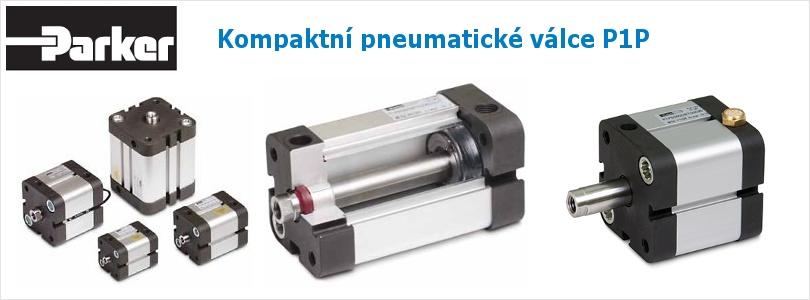kompaktní pneumatické válce parker p1p