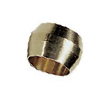0111 - Legris tlakový mosazný zářezný prstýnek BNA šroubení
