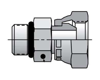 0507 - hydraulický adaptér přímý redukovaný