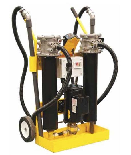 10MF - fitrační stanice pro preventivní údržbu kapalin v systému