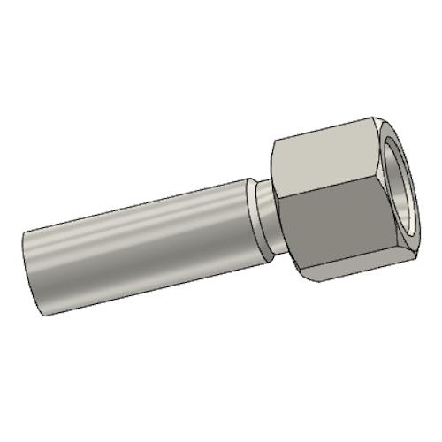 192EX - POLYFLEX koncovka přímá s objímkou DKR