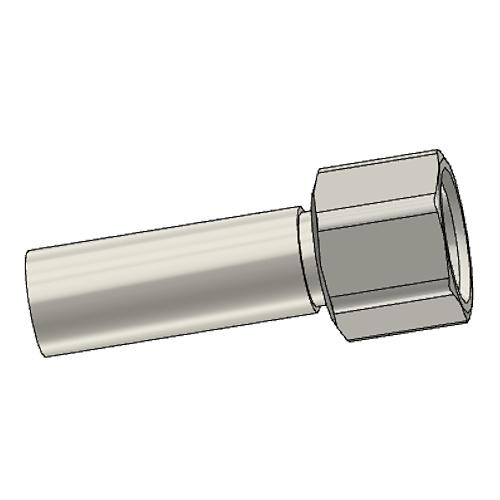 1C3YX - POLYFLEX koncovka přímá s objímkou DKOL