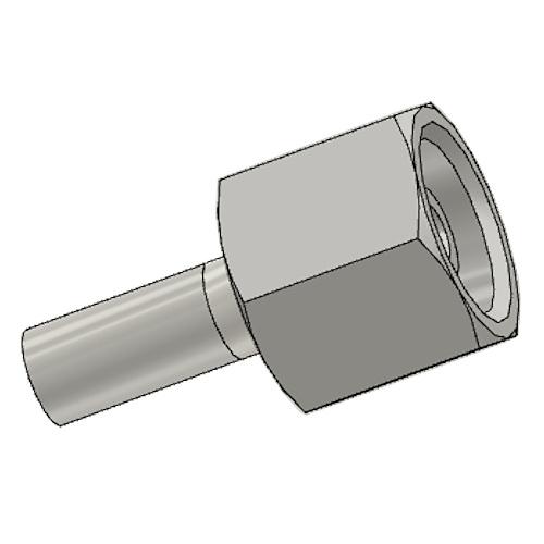 1C9EX - POLYFLEX koncovka přímá s objímkou DKOS
