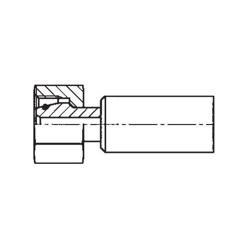 1C9NX - POLYFLEX koncovka přímá s objímkou DKOS