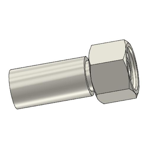 1C9PX - POLYFLEX koncovka přímá s objímkou DKOS