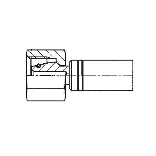 1CAEX - POLYFLEX koncovka přímá s objímkou DKOL