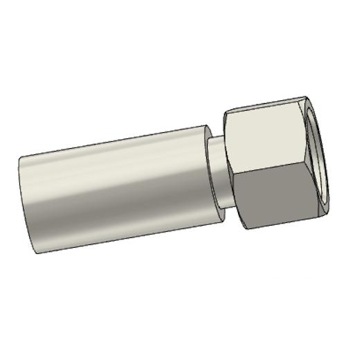 1CAPX - POLYFLEX koncovka přímá s objímkou DKOL