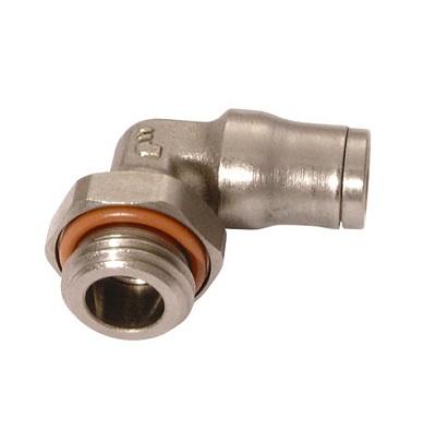 3699 - Legris nástrčné kompaktní 90°úhlové hrdlo šroubení