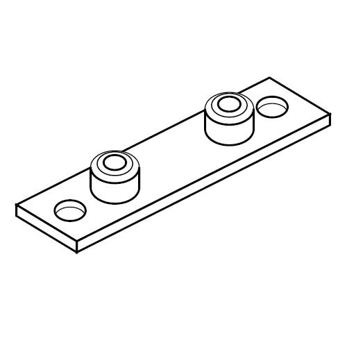 APLC - přivařovací a šroubovací destička příchytek série C