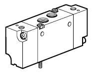 B3 - pneumaticky ovládaný ventil