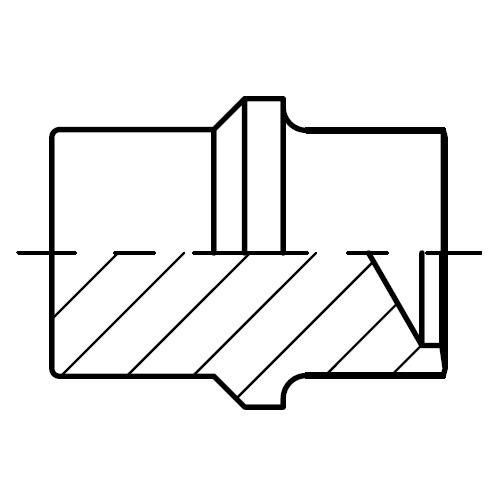 BUZ - hydraulická nerezová zátka šroubení pro kužel