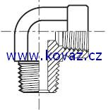 CDM - hydraulický 90°úhlový adaptér