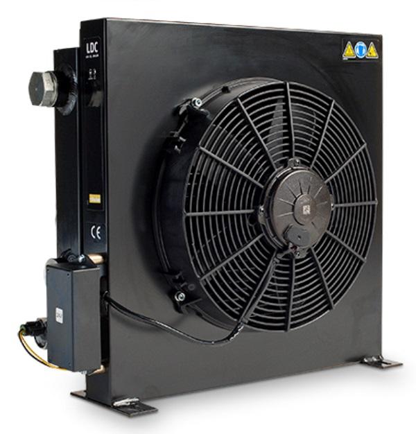 Vzduchové chladiče oleje s motorem 12V/24V