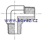 CRM - hydraulický 90°úhlový adaptér