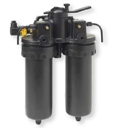DF2145 - hydraulický dvojitý filtr Parker