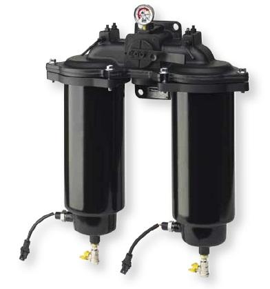 DFBO - hydraulický dvojitý filtr Parker