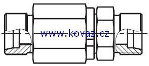 DG 101 - hydraulické přímé rotační šroubení s ložiskem