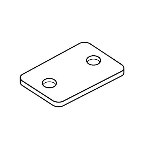 DPA - krycí šroubovací destička pro příchytek série A