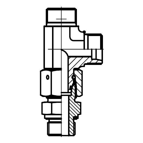 EL-M-ED - hydraulická stavitelná EL spojka s těsnícím kuželem