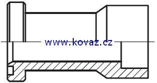 ESL - přímý adaptér příruby redukovaný na koutový sváry