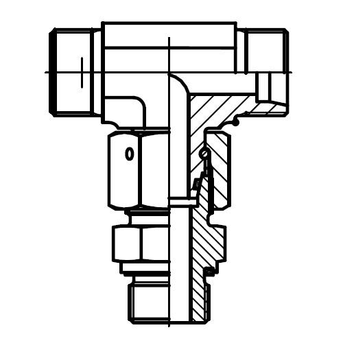 ET-M-ED - hydraulická stavitelná ET spojka s těsnícím kuželem