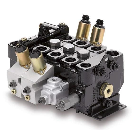F130 - řídící kontrolní vícesekční ruční rozvaděč ventilu