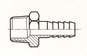 F3HBL - pneumatický hadičník adaptéru