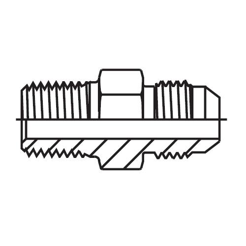 F3MX - hydraulické hrdlo Triple-Lok® 37°