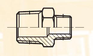 FF33BL - pneumatický přímý adaptér