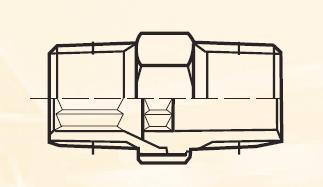 FF633BL - pneumatický přímý adaptér