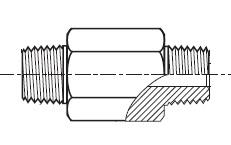 FFFM - hydraulický prodloužený adaptér šroubení