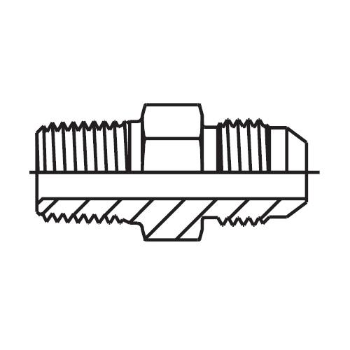 FMTX - hydraulické hrdlo šroubení pro připojení Triple-Lok® 37°
