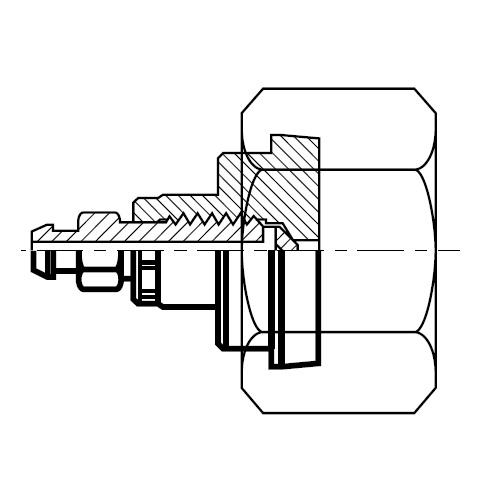 FNLBA - hydraulická záslepka O-Lok