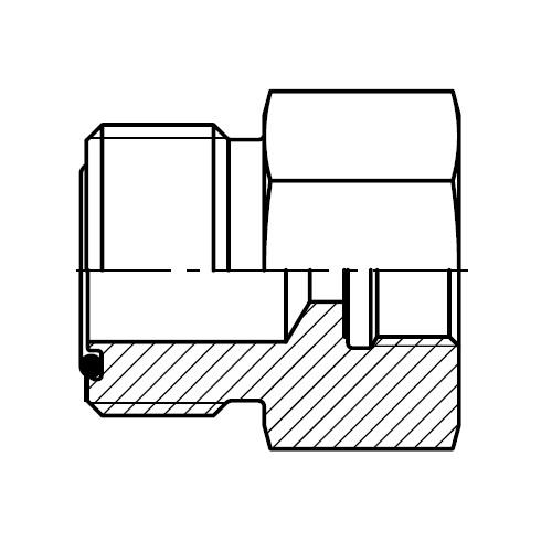 G4MLOSMO - tlakový kalibrovaný zkušební konektor O-Lok