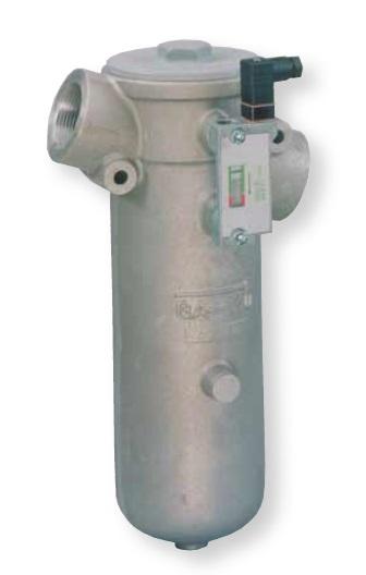 GA - hydraulický středotlaký vratný filtr do potrubí