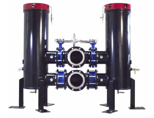 HFS-HFD - hydraulický dvojitý filtr Parker