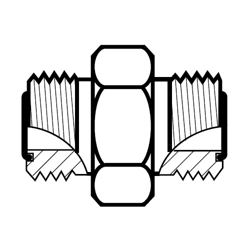 HMLO - hydraulická spojka šroubení O-Lok