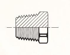 HP3 - pneumatická zátka mosazná