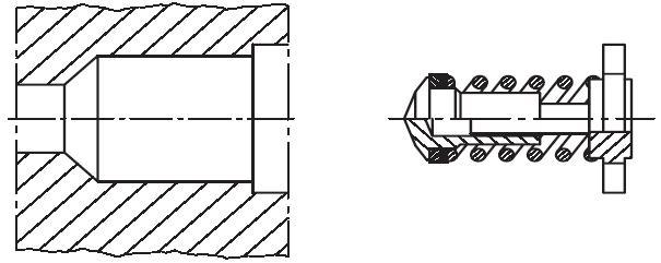 ITL - vnitřní část zpětného ventilu