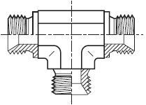 JMK4 - hydraulický T adaptér