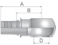 K4947 - koncovka středotlaká Banjo