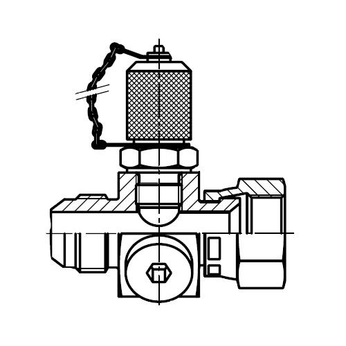 K6PP4MX - zkušební konektor na EMA3 Triple-Lok® 37°