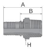 K9147 - koncovka AGR-K středotlaká přímá
