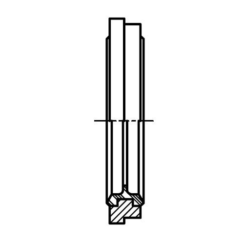 KDS - těsnící kroužek šroubení pro stavitelná WH/TH