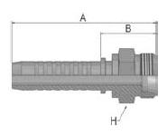 KD0VS - koncovka CEL středotlaká přímá