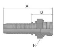 KD9VS - koncovka AGR vysokotlaká přímá