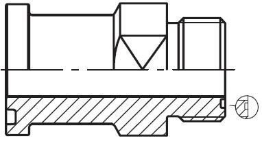 L(O)HQ - hydraulický přímý adaptér příruby šroubení