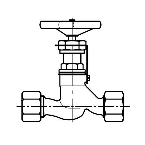 LD - ruční uzavírací ventil