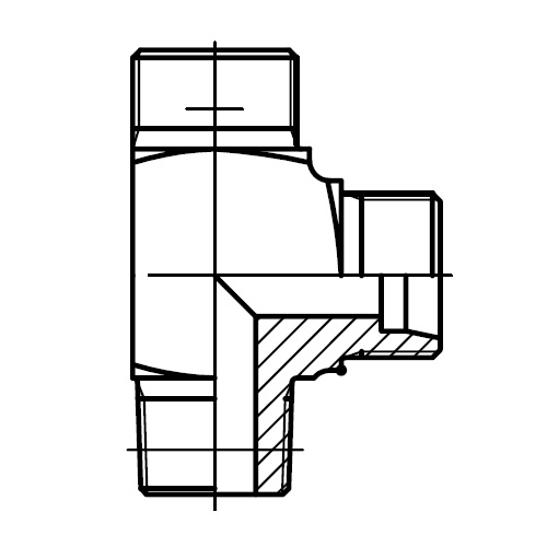 LE-M(KEG) - hydraulické L hrdlo
