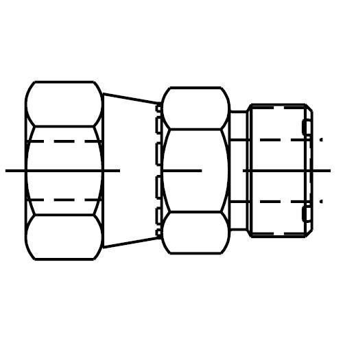 LOHL6 - koncové šroubení s trubkovou redukcí O-Lok